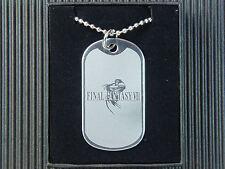 Final Fantasy VIII 8 FF8 Dog Tag Necklace