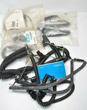 Lot of 15 Various New Motorola Radio Mic Microphone Cords