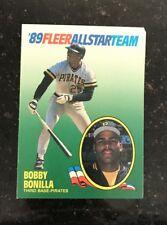 1989 FLEER ALL-STAR BASEBALL CARD INSERT SET