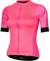 Pearl Izumi Elite Pursuit Cycling Jersey $110 womens XL black pink cycle speed