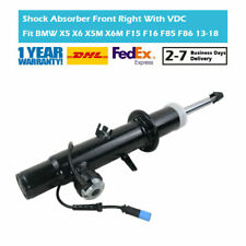 Front Right Gas Shock Absorber With EDC Fit BMW X5 X6 F15 F16 F85 F86 2011-2018