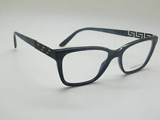 NEW Authentic VERSACE Mod. 3192-B 5127 Marble Blue 52mm RX Eyeglasses
