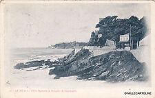 * GENOVA - Quarto - Villa Spinola e Scoglio di Garibaldi 1914