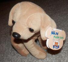golden Retriever PUPPy dog PLUSH floppy light brown 8 inch new skm enterprises