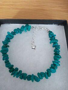 New hubei Province Turquoise Chip Gemstone Bracelet