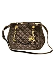 NWT Michael Kors Susannah Quilt Lamb Soft Leather Small bag Purse Xbody Aug20-1