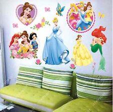 Disney Princess Kid Nursery Room Butterfly Mural Wall Decal Sticker DIY Decorati