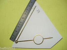 Aiguilles pendulette horloge ancienne,pendule Uhr clock aiguille 85 x 69  n26