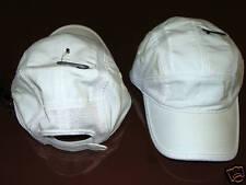 New Era Cap Hat White EK Recline Running Style OSFM Adj