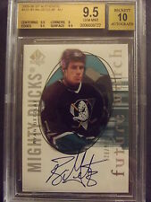 2005-06 SP Authentic #131 - Ryan Getzlaf - RC Rookie - BGS 9.5 w/10 Auto