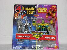 2 - Pack - Walmart Exc - Fantastic 4 / Iron Man - Silver Surfer & Mandarin  MISP