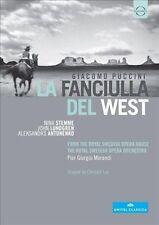 Puccini: La Fanciulla del West (DVD, Aug-2013, EuroArts) VG+