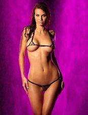 Maillot de bain bikini brésilien sexy micro mini leopard string