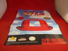 Toys Super Nintendo SNES Foldable Promo Poster Insert ONLY