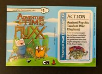 ADVENTURE TIME FLUXX Game Promo Ancient Psychic Tandem War Elephant NEW