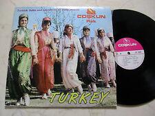 Turkey LP Solos VE Oyun havalari * RARE 60s LP *