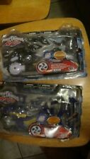 BANDAI Power Rangers RPM Lion Wolf Slide Cycle Action Figure Toy Lot 2009