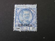 *ERITREA, SCOTT # 100,1.25 Lira VALUE 1926 ITALY STAMPS OVPT KING HUMBERT I USED