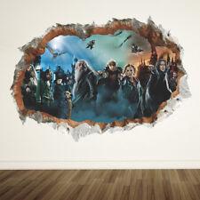 Harry Potter 3D Wall Sticker Poster Hogwarts Home Decor