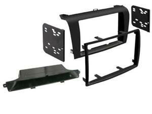 Pour Mazda 3 BK Voiture Radio Couverture Cadre de Montage Ornemental 2-DIN Noir