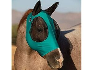 Professional`S Choice Comfort Fit Fly Mask Teal COB New