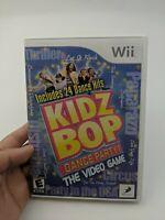 Kidz Bop Dance Party Nintendo Wii complete in Box with rare bonus dvd