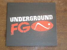 UNDERGROUND FG 100% electro DIGIPACK CD