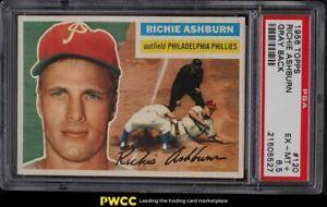 1956 Topps Richie Ashburn #120 PSA 6.5 EXMT+