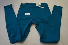 HUE Original Jeans Denim Legging Turquoise SIZE S-$44 NWT