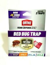 Ortho Home Defense Max Bed Bug Traps ~ box of 2 traps New!