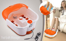 Foot Bath Massager  FOOT BATH WATER SPA MASSAGER HEAT INFRARED LEG FOOT MASSAGER