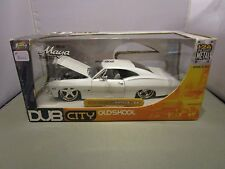 JADA 1/24 DUB CITY OLD SKOOL WHITE 1967 CHEVY IMPALA SS NEW IN BOX *READ*