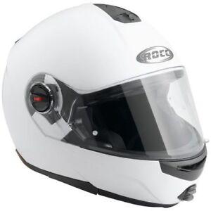 Rocc 680 Klapphelm mit Sonnenblende Weiß/Matt Gr XS S M L XL