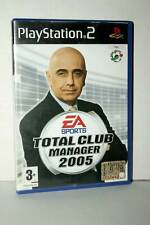 TOTAL CLUB MANAGER 2005 PS2 USATO BUONO STATO ITALIANO PRIMA STAMPA MG1 37685