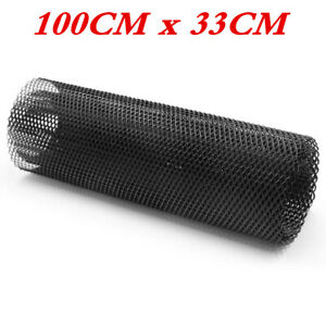 Aluminum Mesh Grill Net Cover Fit for Car Front Bumper Fender Hood Vent 40 x13in