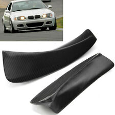 Racing Carbon Fiber Front Splitter Bumper Lip Spoiler For BMW E46 M3 1999-2006