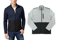 Alfani Men's Colorblock Mock Neck Full Zip Nylon Jacket - Select size/color