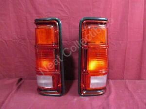 NOS OEM Dodge D150, D250, D350 Tail Lamp WITHOUT Chrome 1988 - 93 PAIR