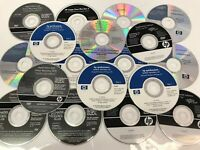 HP Windows Software disc disk lot of 18