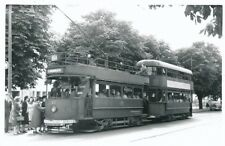 Transport Essex SOUTHEND Tram #65 doubled up 1948 Photograph by Abcross