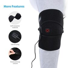 Electric Heated Knee Pad Warm Therapy Leg Wrap Belt Brace Arthritis Pain Relief