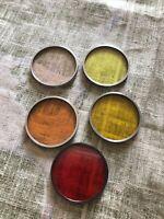 Vintage Kodak Lens Filter Series VI Lot Of 5 Mixed Lot