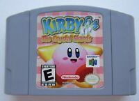 *GOOD* Kirby 64: The Crystal Shards Nintendo 64 N64 Retro Kids Video Game Rare