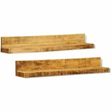 Massief houten boekenplank (set van 2) boeken plank schap set boekenplanken