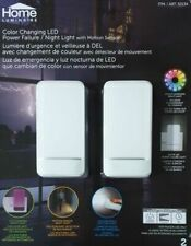 hOme 50134 Colour Changing LED Power Failure Night Light With Motion Sensor