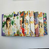 Lot of 8 PASTEL Manga Volumes 4-10,13 DEL REY Toshihiko Kobayashi English Age 16