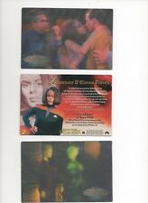 1999 RITTENHOUSE *THE WOMEN OF STAR TREK IN MOTION* PART BASE SET 21 OF 32 CARDS