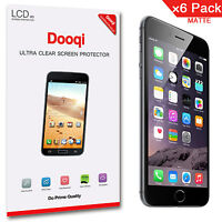 "6X Dooqi Matte Anti Glare Screen Protector Guard For Apple iPhone 6 4.7"" / 6S"