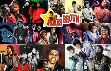 JAMES BROWN Collage Poster