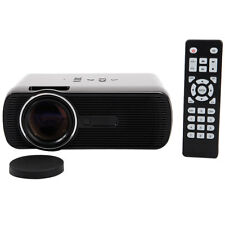 1080P HD Home Cinema Theater Portable Mini LED LCD Projector HD AV USB VGA TV SD